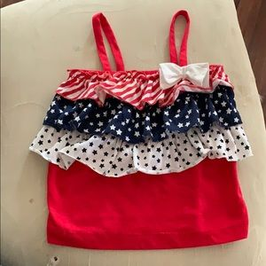 Patriotic infant top